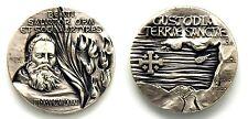 Medaglia Beati Salvator OFM Et Socii Martyres 3 Ottobre MCMLXXXII Custodia Terra