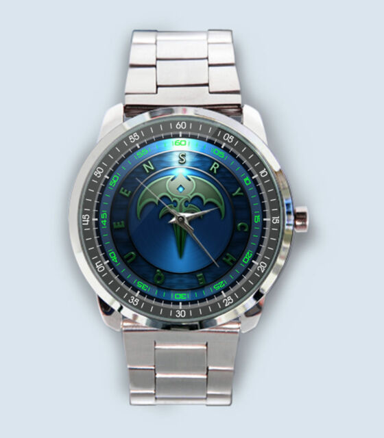 New Queensryche Logo Custom Stainless Steel Watch