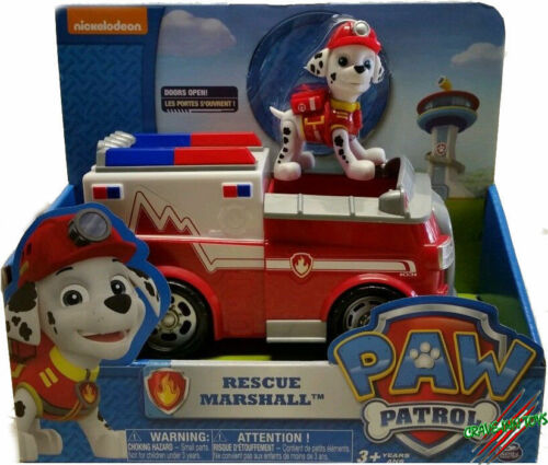 PAW PATROL--MARSHALL EMT//AMBULANCE FIRE TRUCK// IN HAND NOW!!