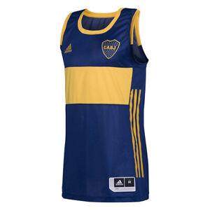 Adidas Boca Juniors Home Sleeveless Jersey Basketball - GH6837 ...