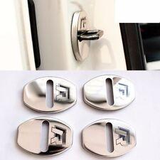R Line Stainless steel Door Lock Striker Cover for VW Golf Passat Polo Tiguan CC