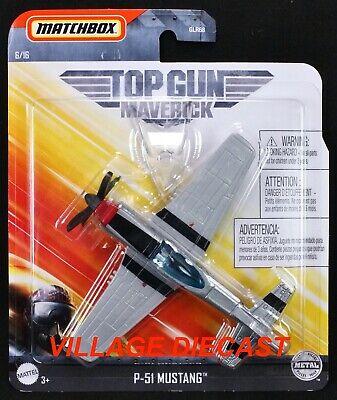 Details about  /Matchbox 2020 Mattel Sky Busters Top Gun Maverick~P-51 MUSTANG~6//16