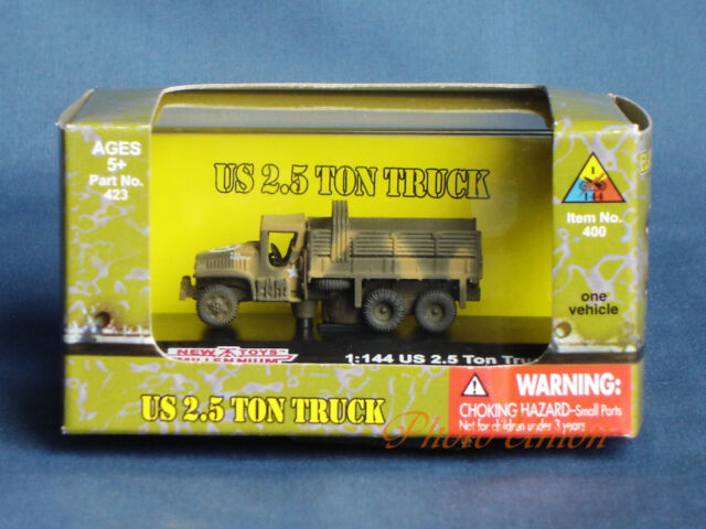 WWII 1:144 US Wehrmacht GMC 6x6 2.5 Ton Military Modell NMT/_423