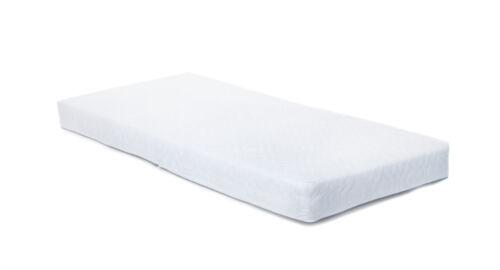 Travel cot mattress 65x95cm Matelassé Housse Zip 7cm d/'épaisseur pour GRACO mamas /& papas