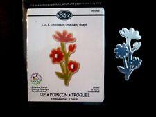 Sizzix Embosslits BOTANICAL BRANCH FLOWERS Sizzlits fits Cuttlebug 657096