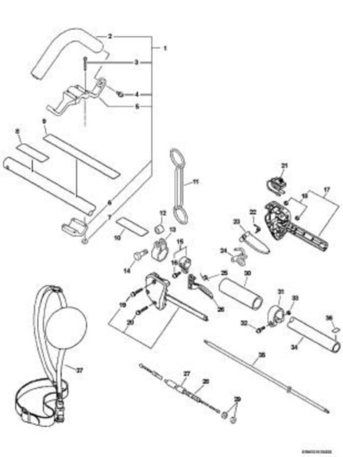 Stihl Fs 410 Clearing Saw Fs410c E Parts Diagram Spacer Flange