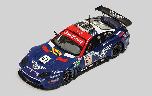 Ferrari 550 Maranello Cirtex Motosport LM 2005 RL053 1 43 rouge Line