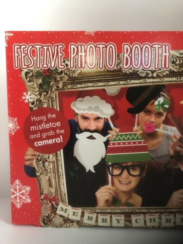 Photo Booth Props with Card Frame Festive Party Fun