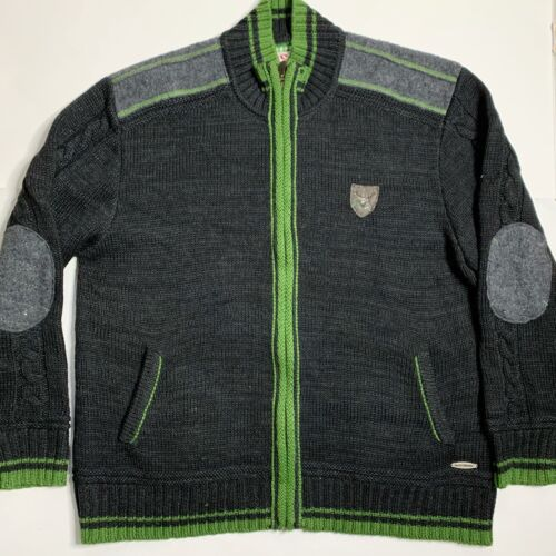 Spieth & Wensky Wool Full Zip Sweater Trachten Jac