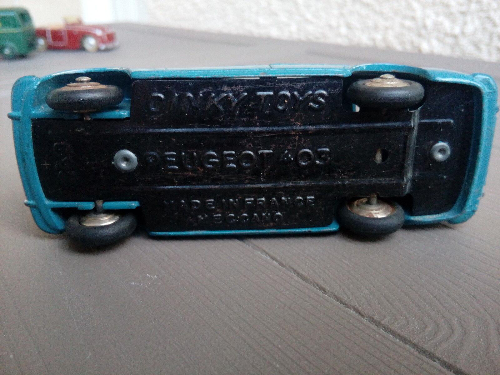 Avoir une maison, maison, maison, avoir de l'amour, as-tu Ancienne dinky toys peugeot 403 24B bon etat d origine ea3d2b
