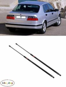 98- Saab 9-5 Saloon Pair x2 Tailgate Boot Gas Struts // Dampers