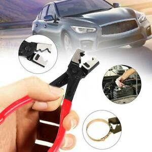 Car-Water-Pipe-Fuel-Hose-Installer-Remover-Removal-R-Type-Clip-Clamp-Plier-Tool