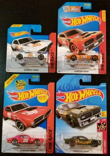 Bundle it! HOT WHEELS /'68 Mercury Cougar Variations