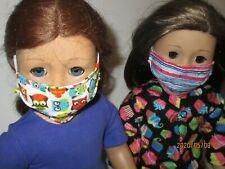"""2 Face Masks for 18/"""" Doll Clothes American Girl 3"""