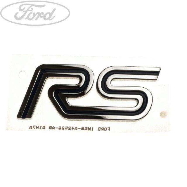 Ford Focus RS emblem badge front or rear OEM new