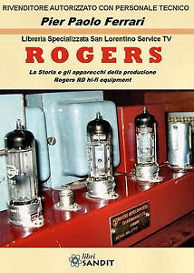 ROGERS-LIBRO-AMPLIFICATORI-CASSE-AUDIO-HI-FI-CADET-HG88-SCHEMI-FOTO-APPARECCHI