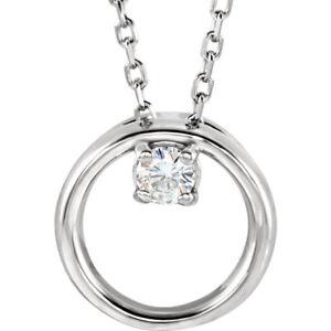14K-White-3mm-Round-Forever-One-Moissanite-Circle-Necklace-Charles-amp-Colvard