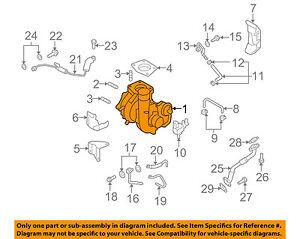 MAZDA OEM 07-12 CX-7-Turbocharger L3YC1370ZA | eBay