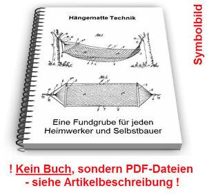 Hängematte Selbst Bauen Hängesessel Hängesitz Technik Patente