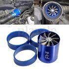 Supercharger Double Fan F1-Z Turbonator Turbine Turbo Air Intake Fuel Gas Saver