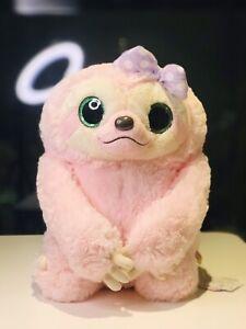 Brand-New-Japan-Amuse-Sloth-Mikken-Soft-Toy-Plush-Toy-38cm-Pink-Rare-Premium