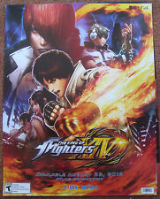 """E3 PAX King Of Fighters XIV 14 GameStop Expo 2016 Poster 22""""x28"""""""