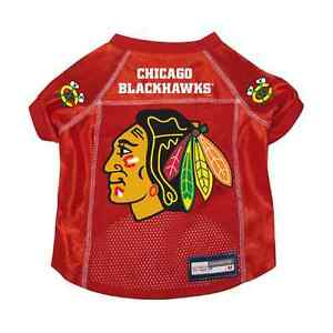 NEW-CHICAGO-BLACKHAWKS-PET-DOG-PREMIUM-JERSEY-w-NAME-TAG-ALL-SIZES-LICENSED