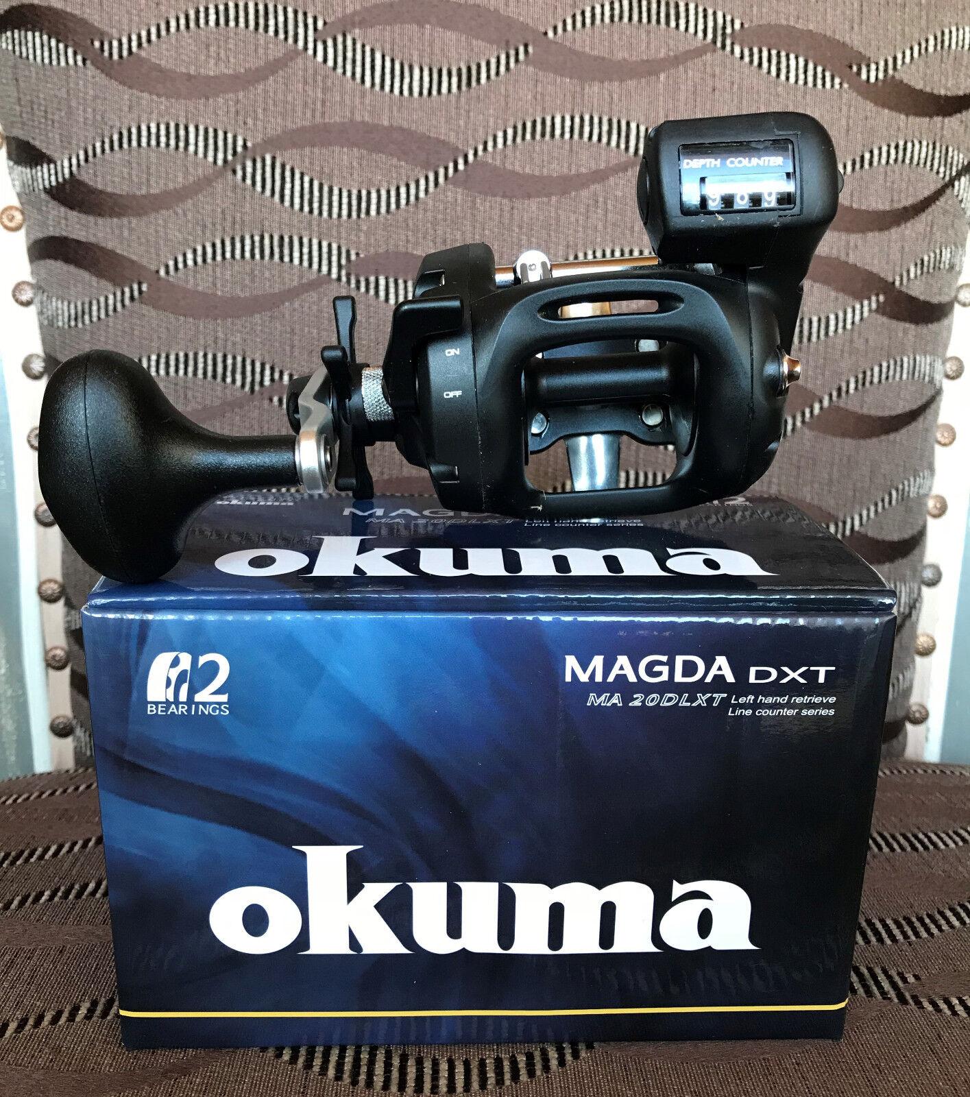 Okuma Magda MA-20DLXT DXT MA-20DLXT Magda Linkshand Multirolle 57f317
