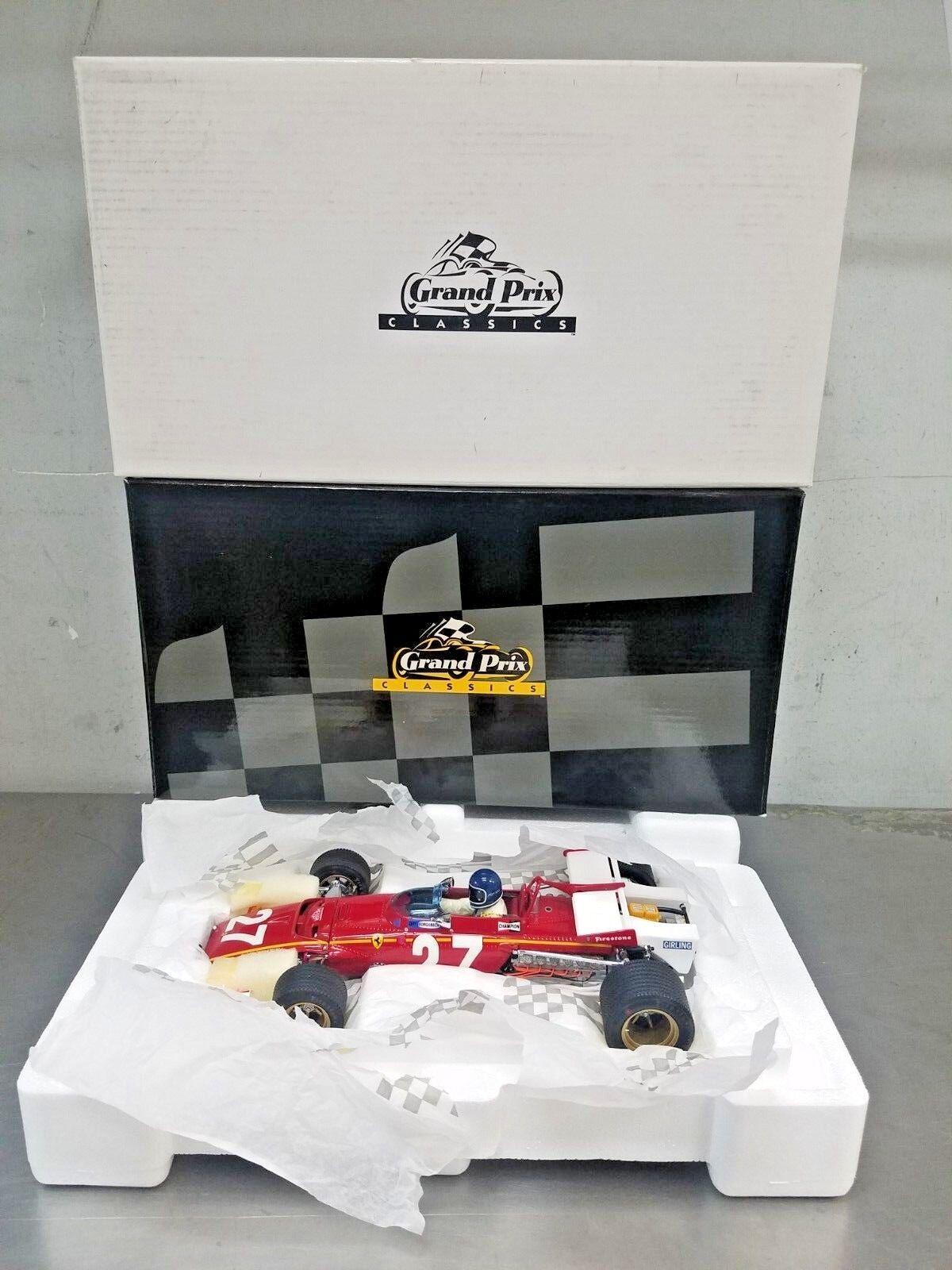barato y de moda Exoto 1 18 1970 Ferrari 312B Rojo    27 Grand Prix Bélgica Jacky § GPC97064  nuevo   artículos de promoción