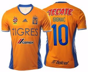 c19958200a9 ADIDAS ANDRE PIERRE GIGNAC TIGRES UANL 5 STARS HOME JERSEY 2017.
