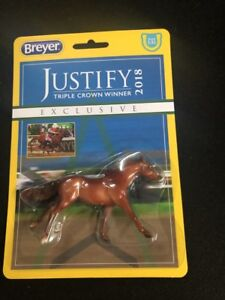 Breyer-Stablemates-Justify-Horse-Model-Toy-New