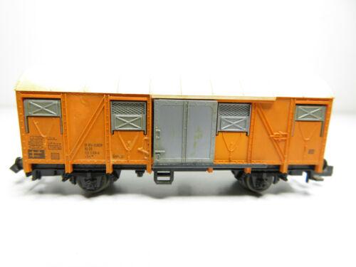 Güterwagen orange der DB kleiner Fehler 218N //1 Fleischmann N