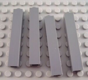 New LEGO Lot of 8 White 1x2 Grill Tiles