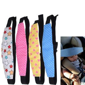 Safety-Car-Seat-Stroller-Baby-Kids-Sleep-Nap-Aid-Head-Fasten-Support-Holder-Belt