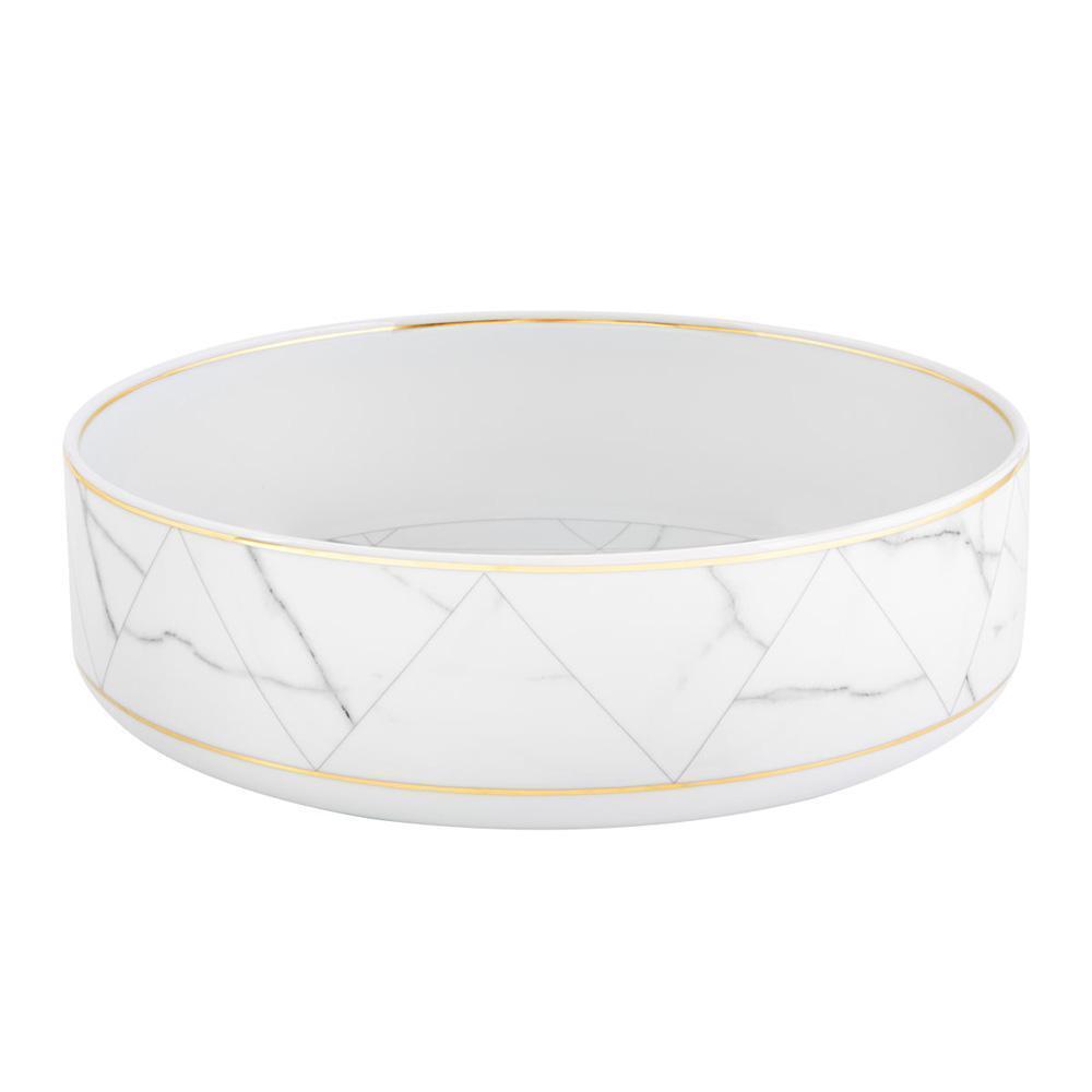 Vista Alegre Porcelain Carrara Salad Bowl