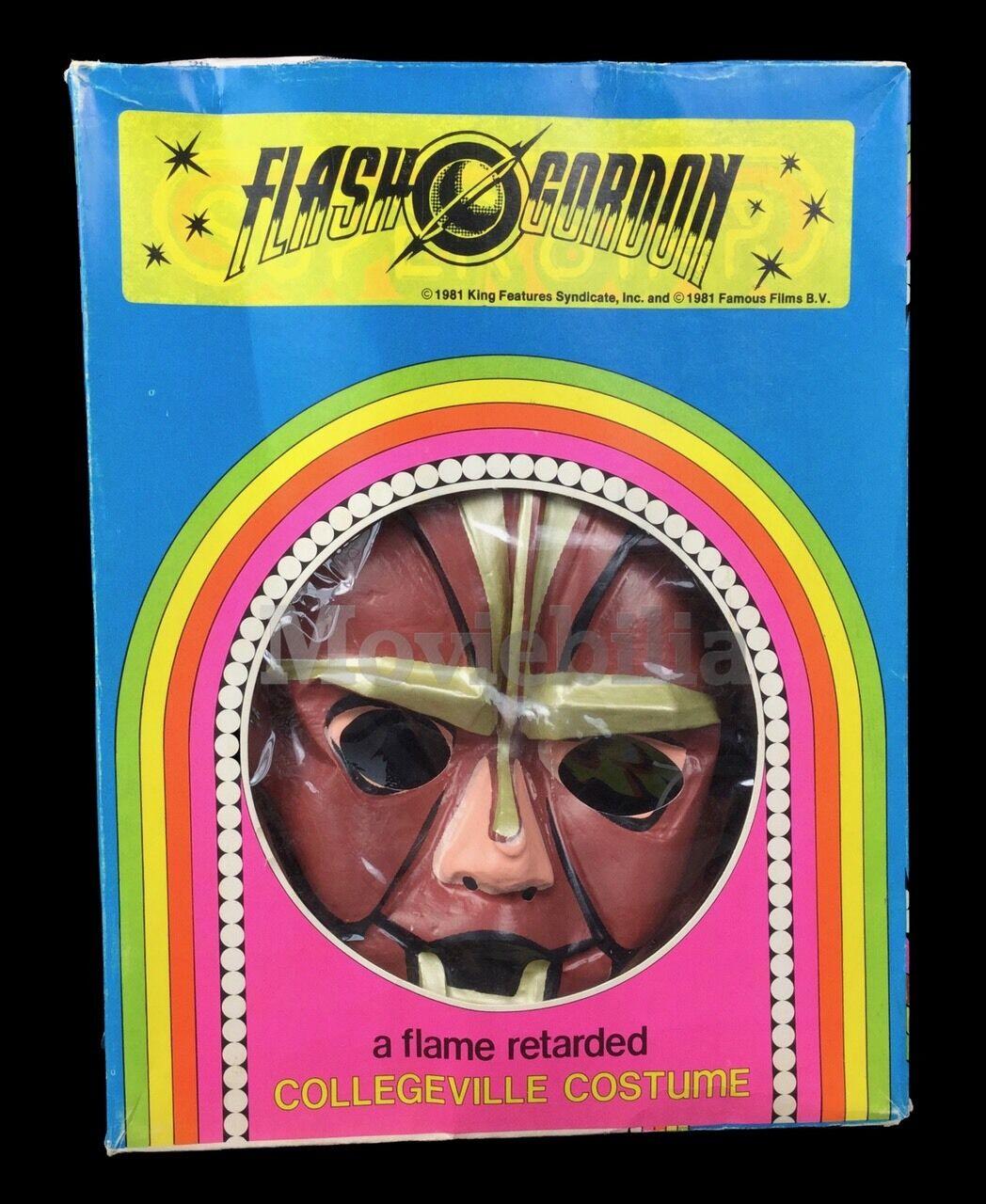 Flash Gordon Movie 1980 Rare Official Hawkman Costume & Mask Set, Collegeville