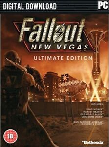 Fallout New Vegas Ultimate Edition PC Steam GLOBAL [KEY ONLY!] FAST Delivery