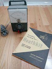 Heathkit Av 3 Audio Vtvm With Assembly Amp Instruction Manualvacuum Tube