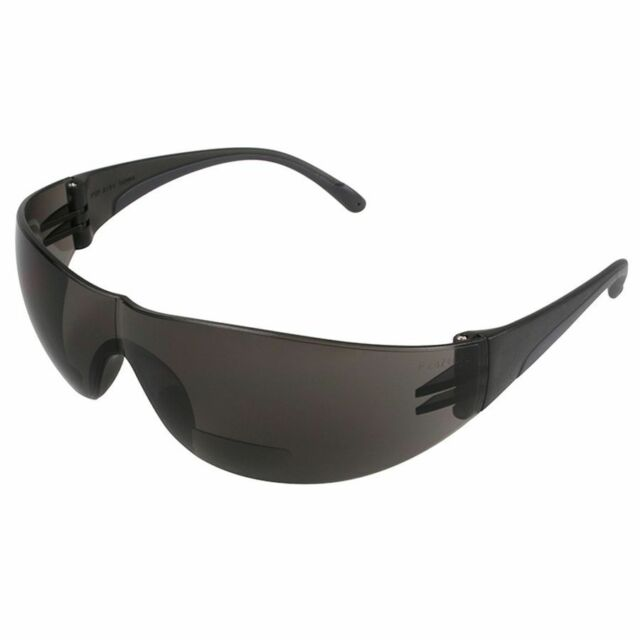 9a3a96d0bb PIP Zenon Z12r Bifocal Safety Glasses With Gray Lens 2.50 Dark ...