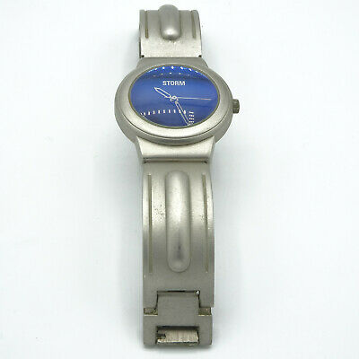 Vintage Storm Blue Watch | eBay