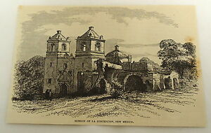 1878-magazine-engraving-MISSION-OF-LA-CONCEPCION-New-Mexico