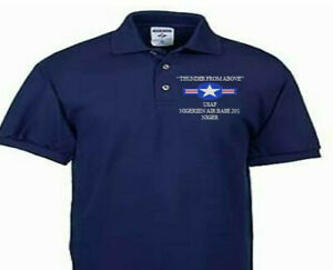 NIGERIEN AIR BASE 201 NIGER USAF EMBROIDERED POLO SHIRT/SWEAT/JACKET.