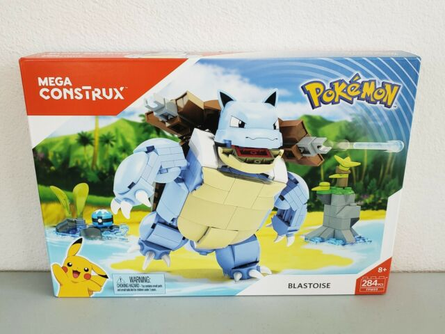 Mega Construx Pokémon Blastoise 284 Pieces FPM99 Brand New Sealed