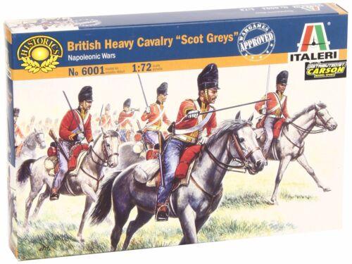 """Britisch Heavy Cavalry /"""" Scots Grey /"""" Italeri 6001 1:72"""