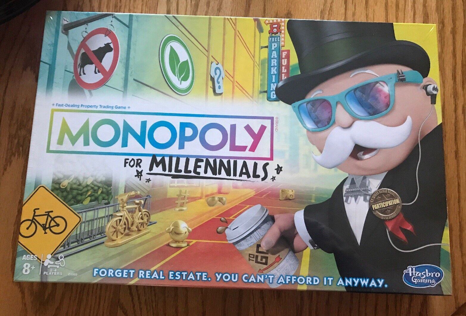 Monopoly For Millenials Edition Limited Item Fast Ship Free Shipping
