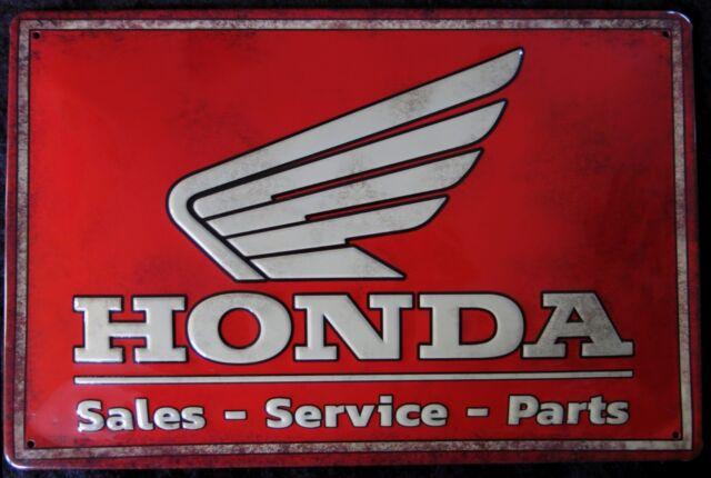 HONDA LOGO MOTORRAD, BLECHSCHILD