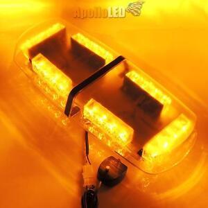 all amber led heavy duty snow plow safety alert warning strobe light. Black Bedroom Furniture Sets. Home Design Ideas