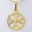 Malta MALTESE CROSS Jewellery Hallmarked 750 18ct 18k Gold Pendant Charm Amalfi