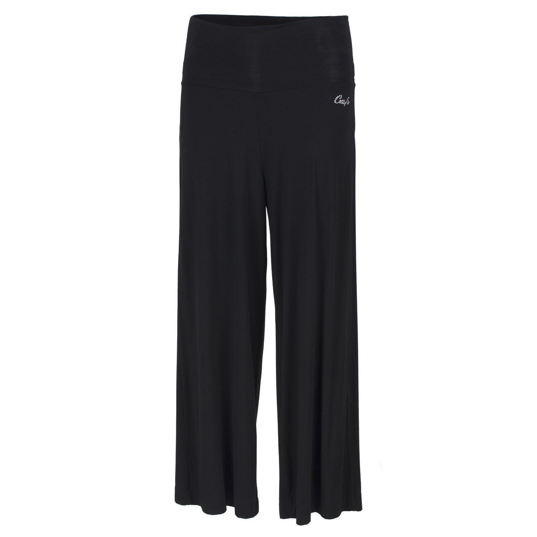 CMP Pantaloni per Tempo Libero Elasticizzati Nero Lontano Sottilesottile Modaa