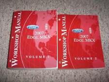 2007 Ford Edge Original Shop Service Repair Manual Set SE SEL Plus AWD 3.5L V6
